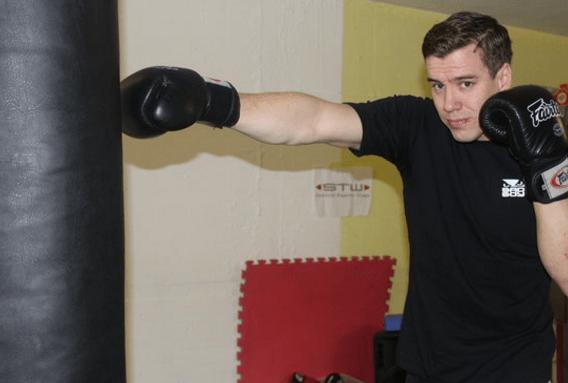 Alfred Katzer: Portrait eines Kickbox-Landesmeisters