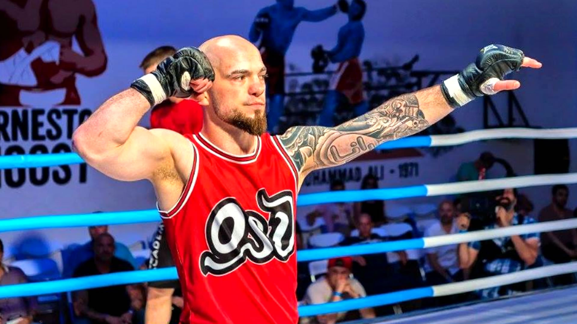 MMA-Fighter René Hackl im Portrait