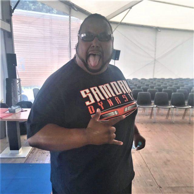 Wrestlingstar Alofa