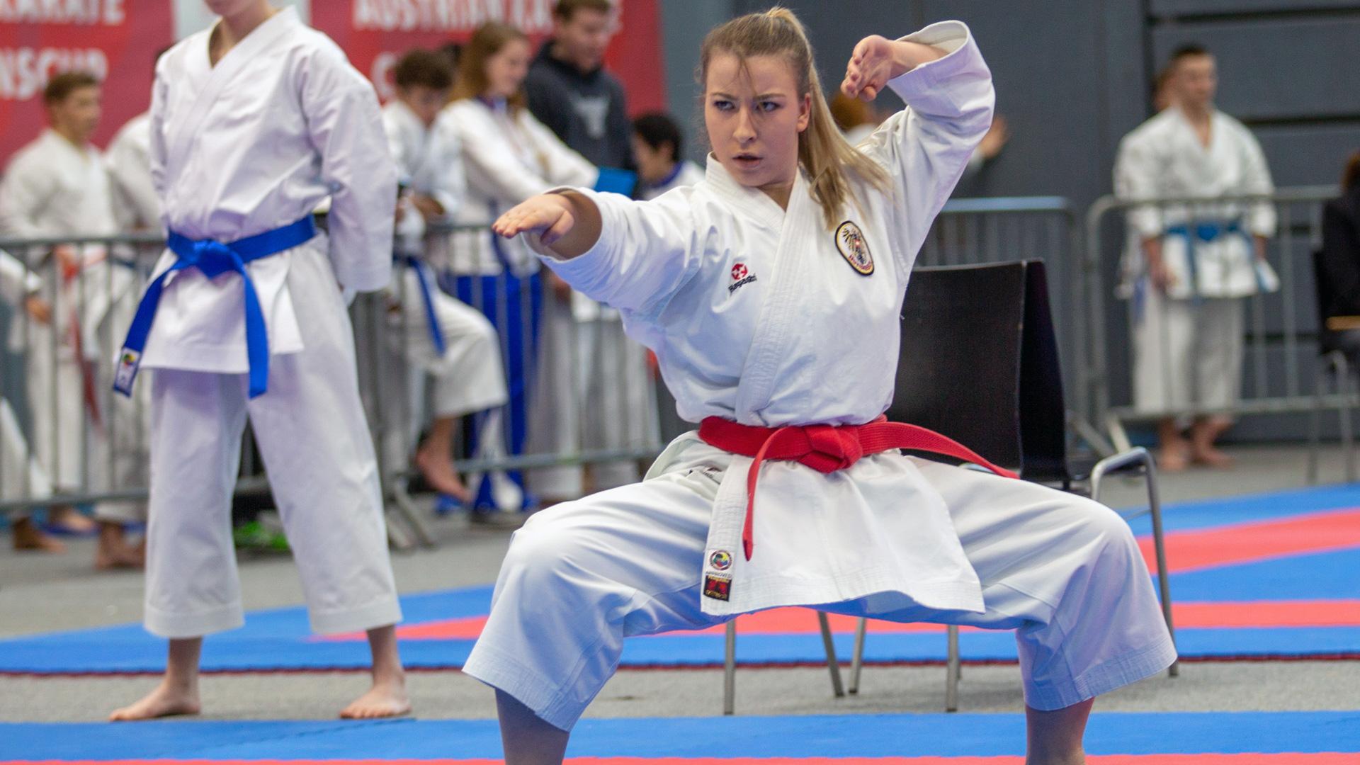 Milon Cup | Karate Austria | Silbermedaillen | Patricia Bahledova | KC Höchst | David Nussbaumer | KARATE HOFSTEIG