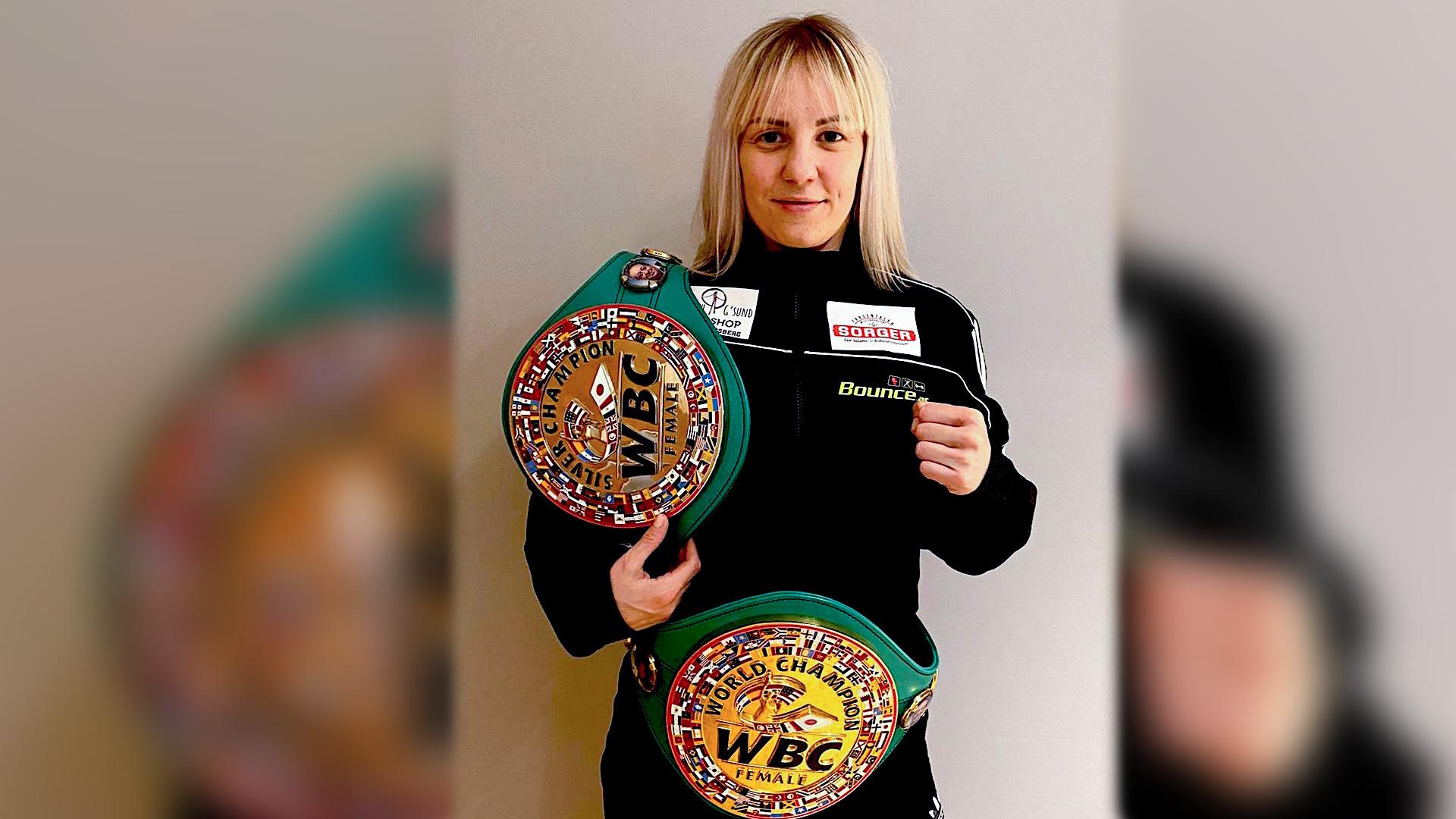 Eva Voraberger | bekannt als GoldenBaby | wechselt zu BC Bounce | Trainiert mit Daniel Nader | Premiere Bounce Fight Night am 6. Juni 2020