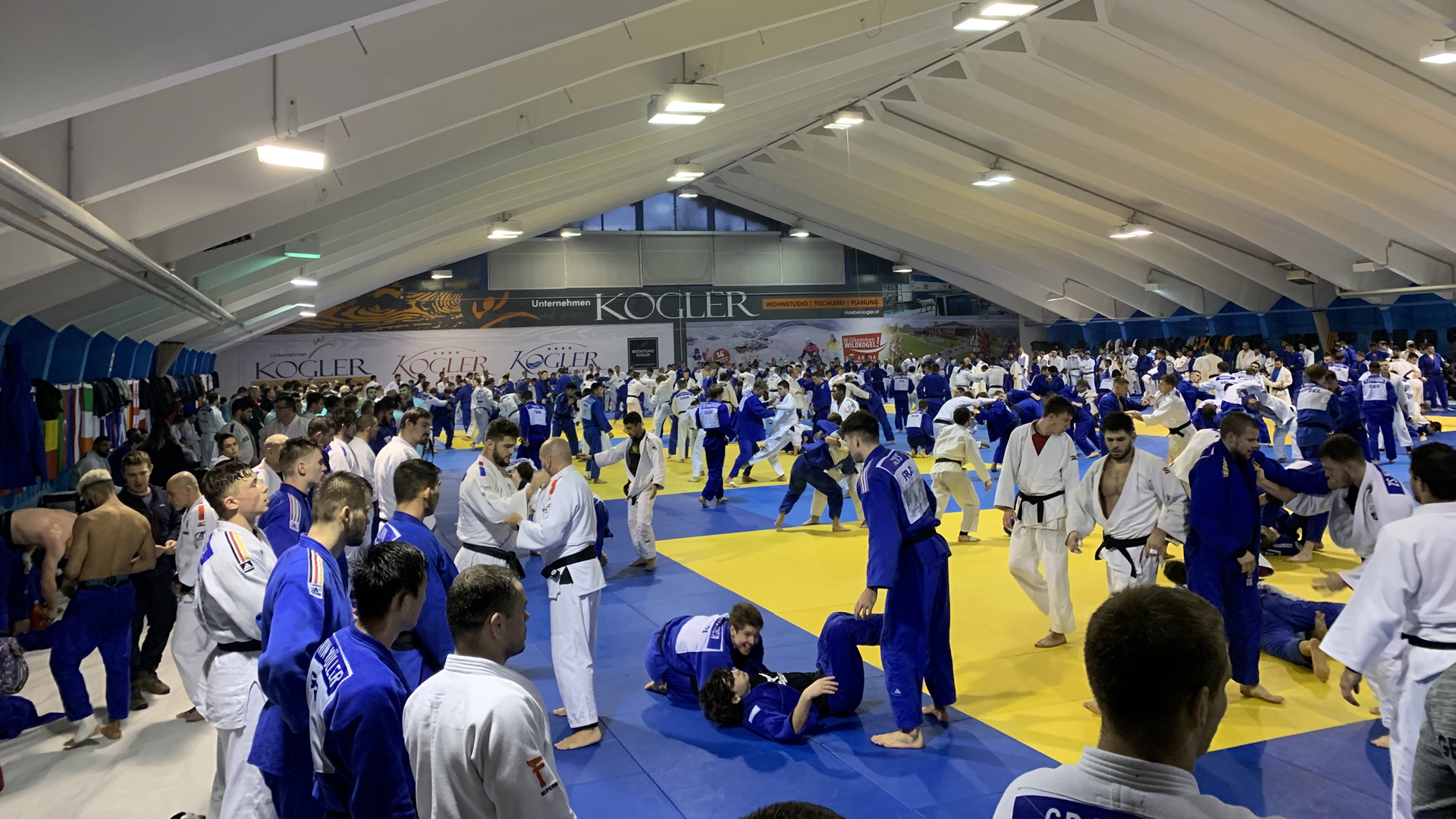 Judo Trainingscamp | im Salzburger Pinzgau | diesjähriges OTC in Mittersill | weltweite Judoelite aus 67 Nationen vertreten