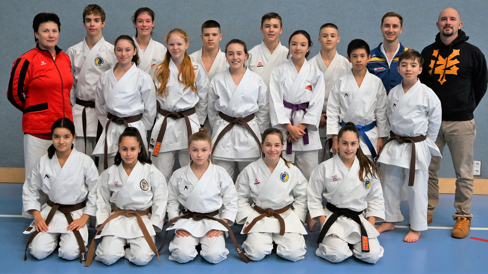 KATA Nationalteam | Sankt Pölten | Olympiazentrum Niederösterreich | Olympia 2020 Tokio | Karate Austria