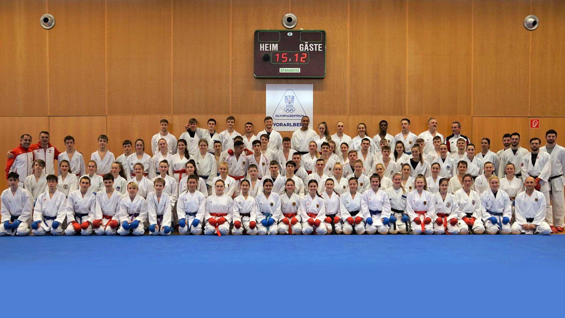 Karate Trainingscamp WILA | Dornbirn in Vorarlberg | Leitung Dragan Leiler und Daniel Devigili | Vorbereitung Karate Olympia 2020