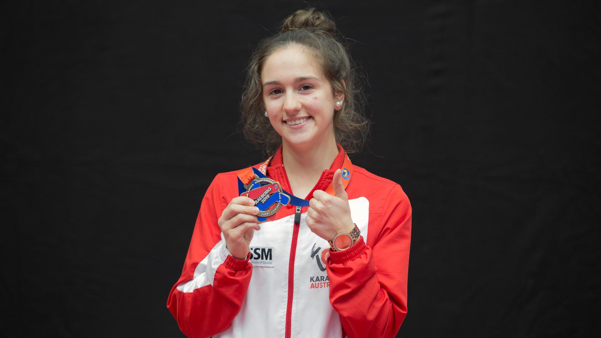 Aleksandra Grujic | EM | Budapest | Nachwuchsathleten | Karate