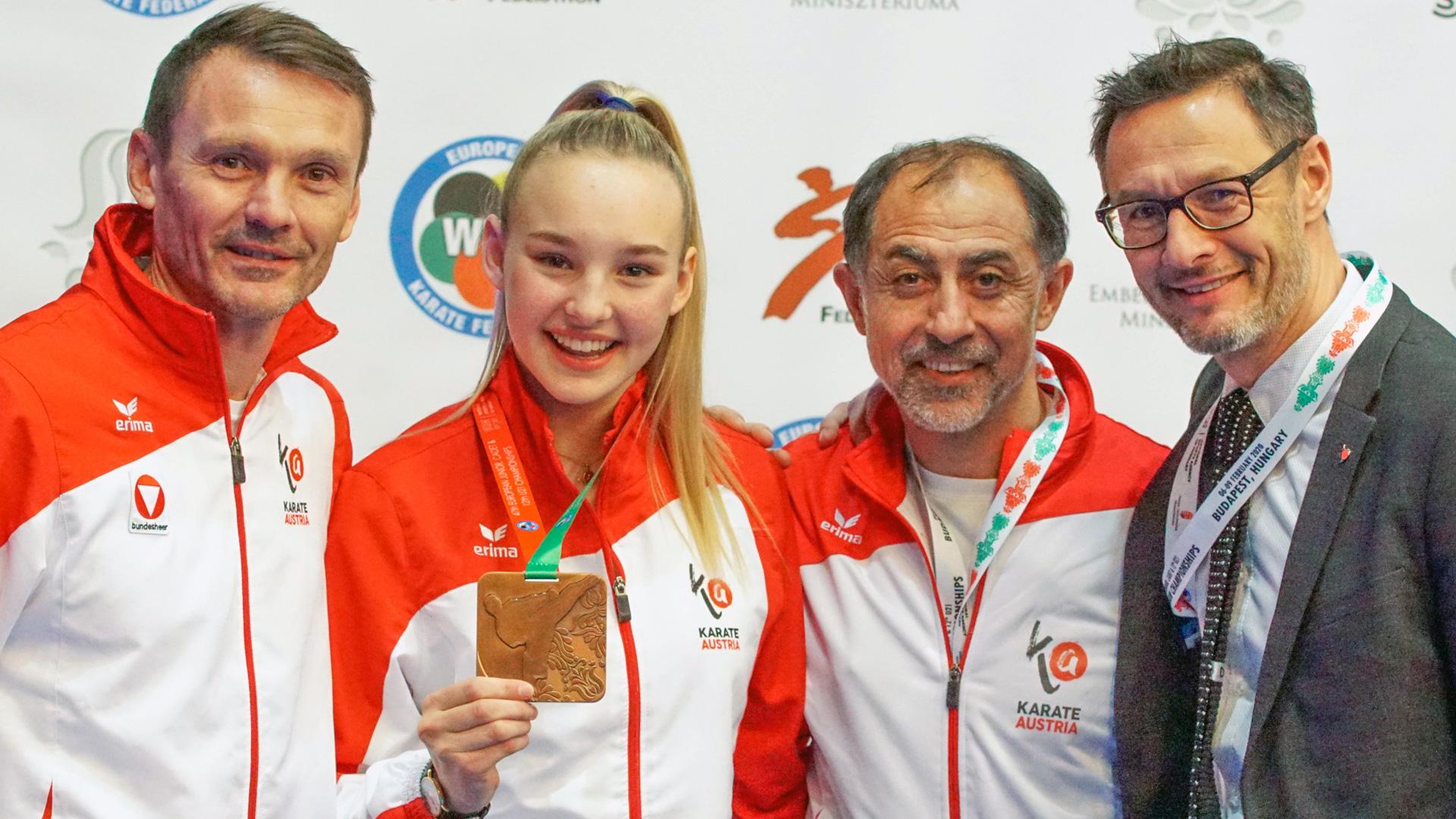 EKF | Europa Karate Meisterschaften | Hanna Devigili | Bronze | Karate Austria