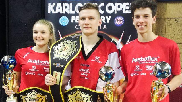 Goldregen | Kärntner KickboxerInnen | Europacup | Karlova Open 2020 | Kroatien