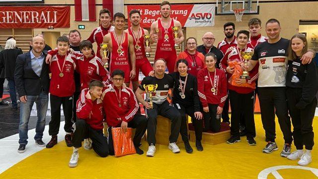Ringen   österreichische Staatsmeisterschaft   AC Wals   Wrestling