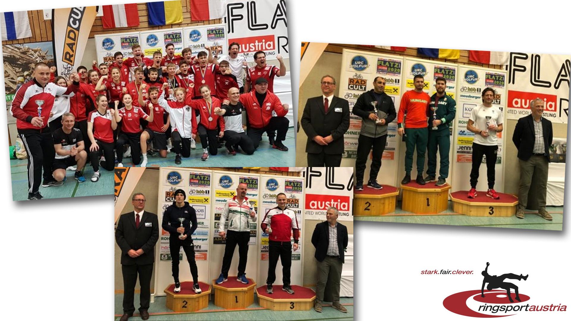 Turniersiege | Flatz Open | Ringsport | Austria | Wolfurt