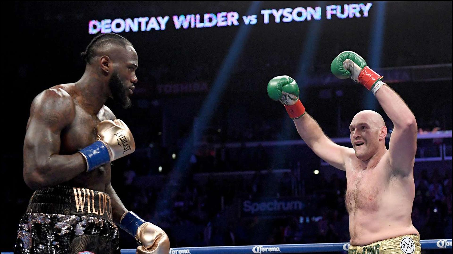 DAZN | Live | Deontay Wilder vs Tyson Fury | Boxen | Schwergewicht | WM