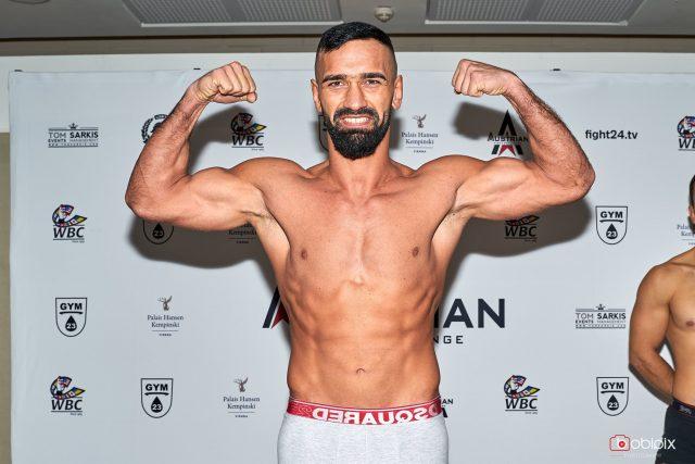 MMA Profikämpfer Sado Ucer c) Bobi Pix
