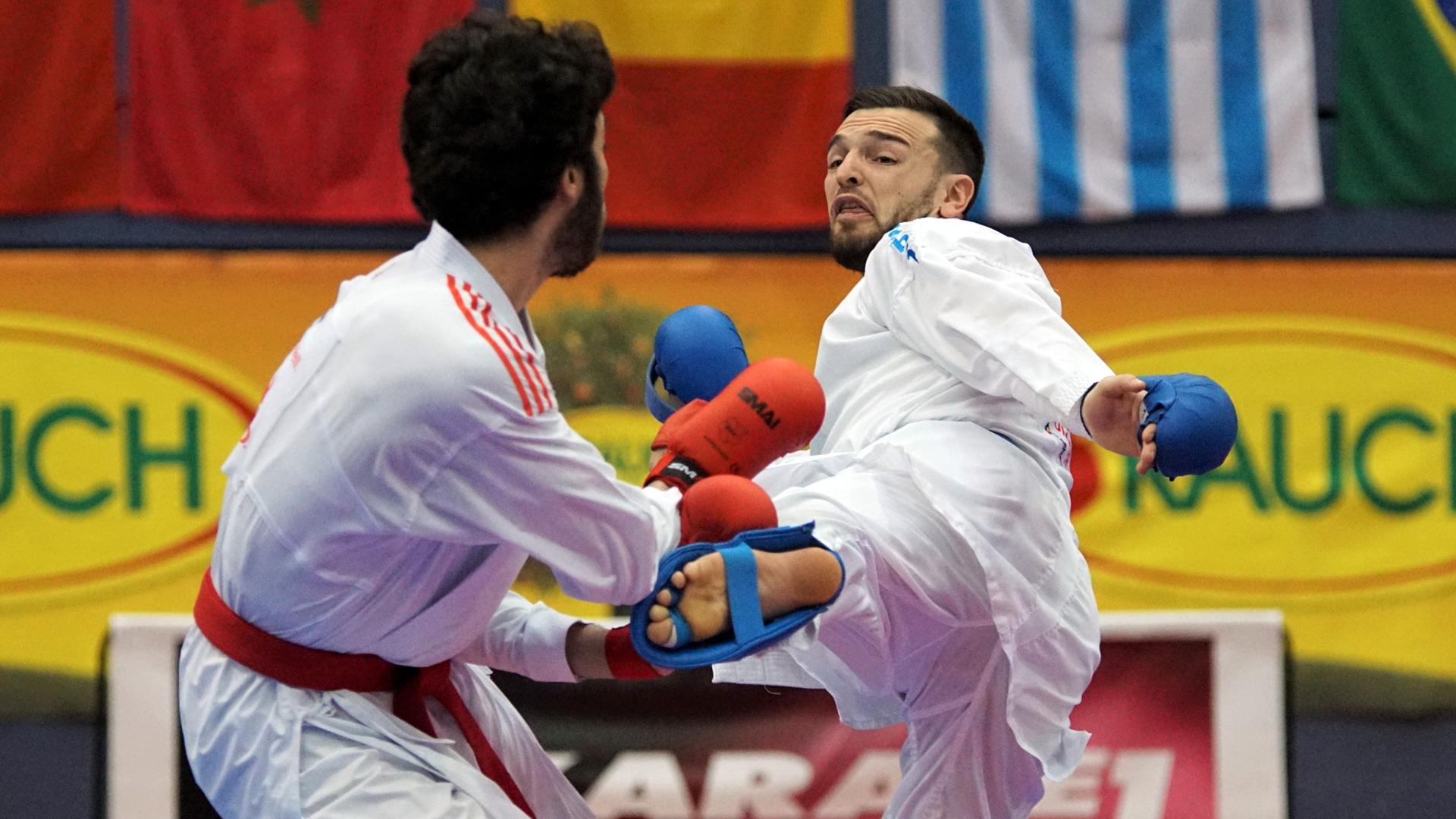 Stefan Pokorny | Bettina Plank | Austrian Open | Karate Austria | Platz 5 belegt