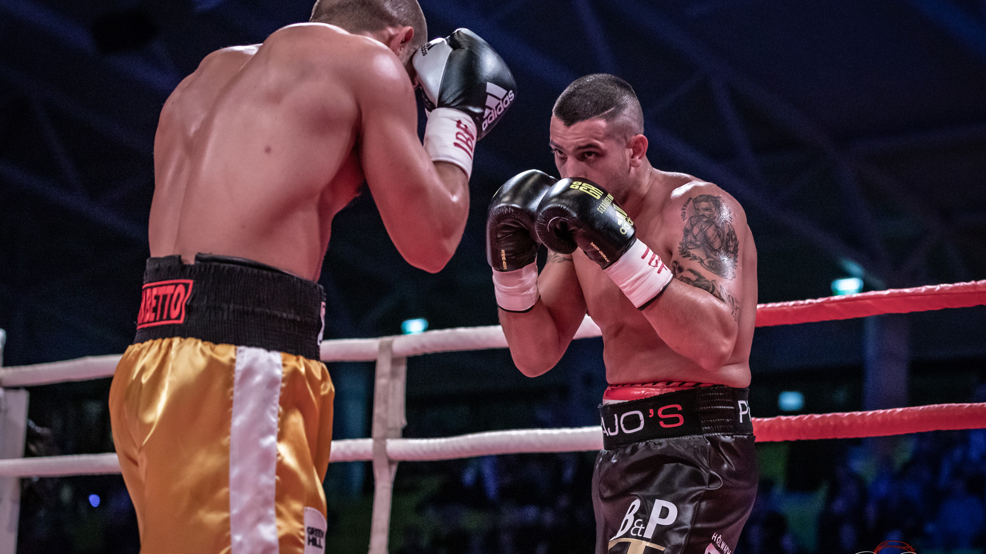 Marcos Nader bei der Bounce Fight Night by Rene Bakodi