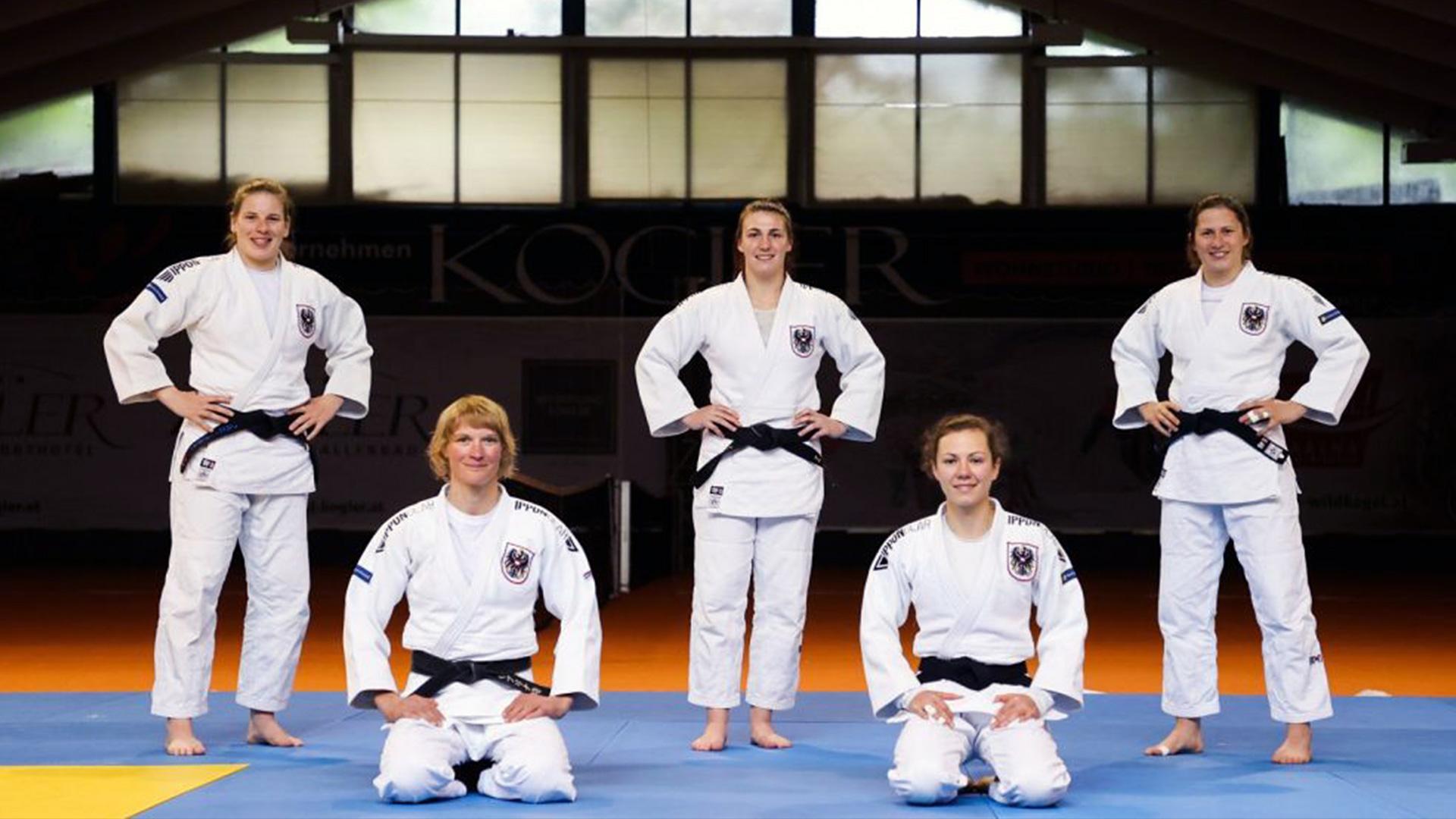Österreichisches Judo Nationalteam, Trainingslager Mittersill, Top Athleten, Sabrina Filzmoser, Stephan Hegyi