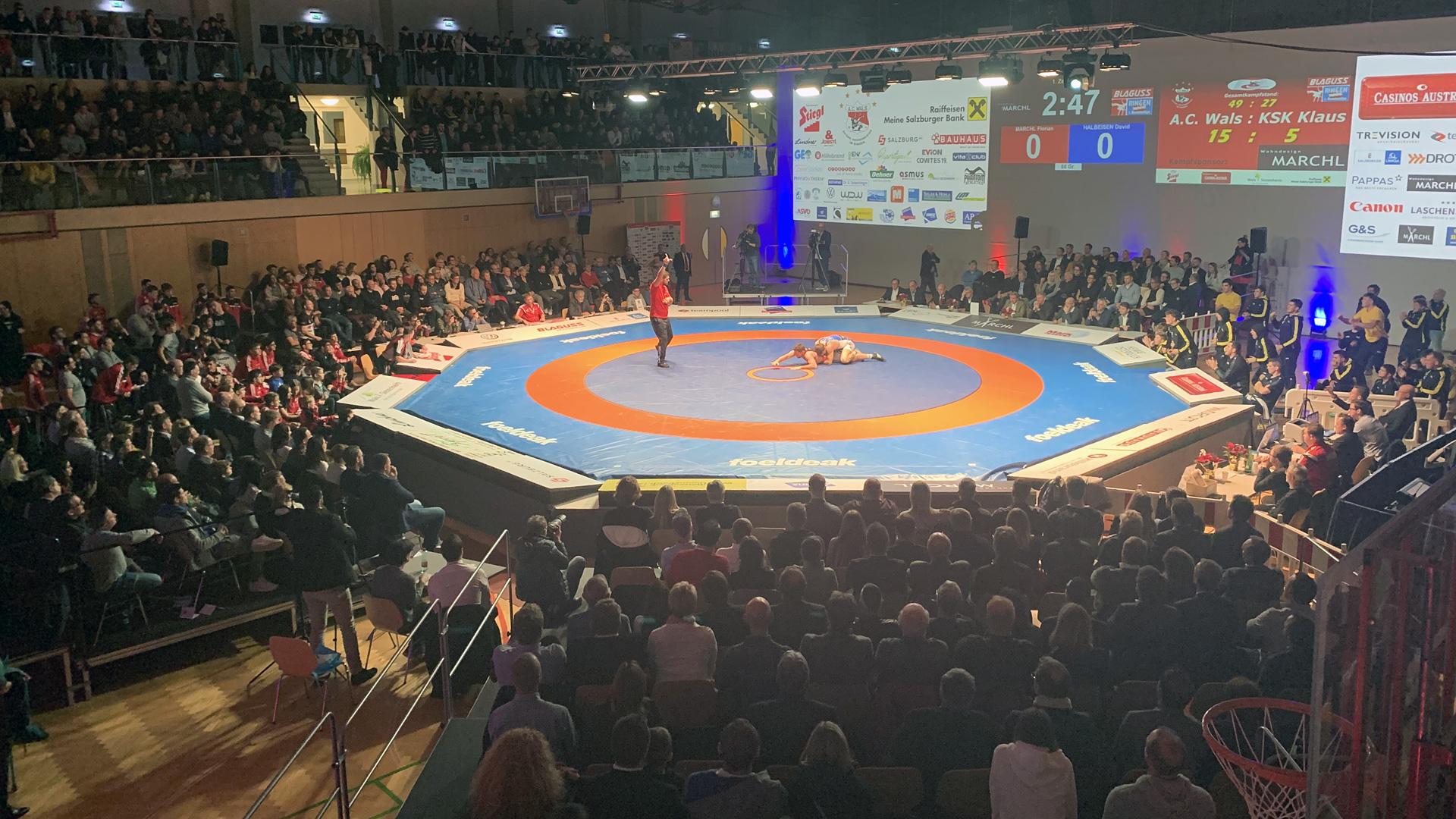 Österreichische Ringer Bundesliga 2020 – Abgesagt
