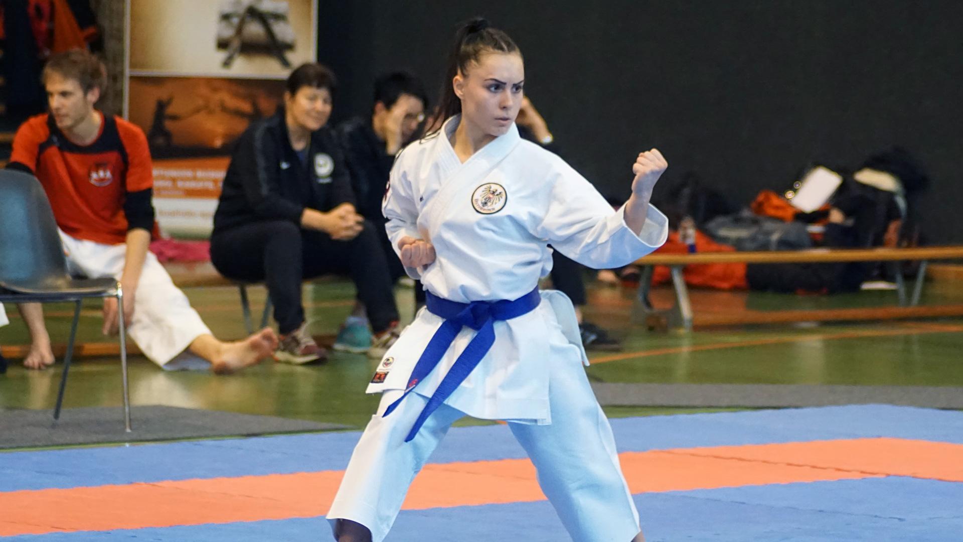 Fund Celo | holt Silber und Gold | bei Karate Sportdate World Series | Karate E-Torunament