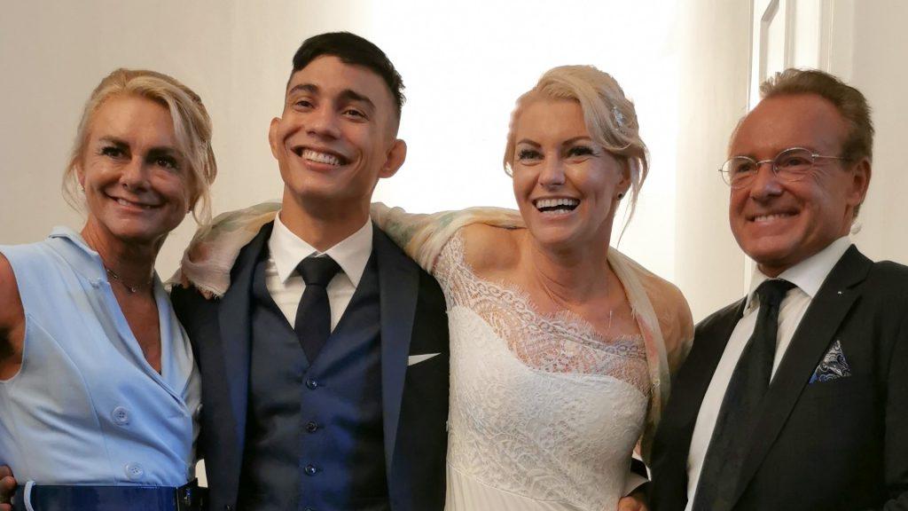 Daniel Torres und Jasminka Cive gaben sich das Ja-Wort | Hochzeit des Kickbox-Champion und der MMA-Queen | Hochzeit wegen Corona verschoben