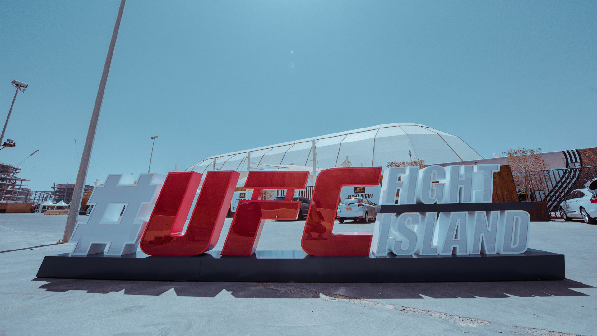 UFC Fight Island | Abu Dhabi | Safe Zone für Sportler
