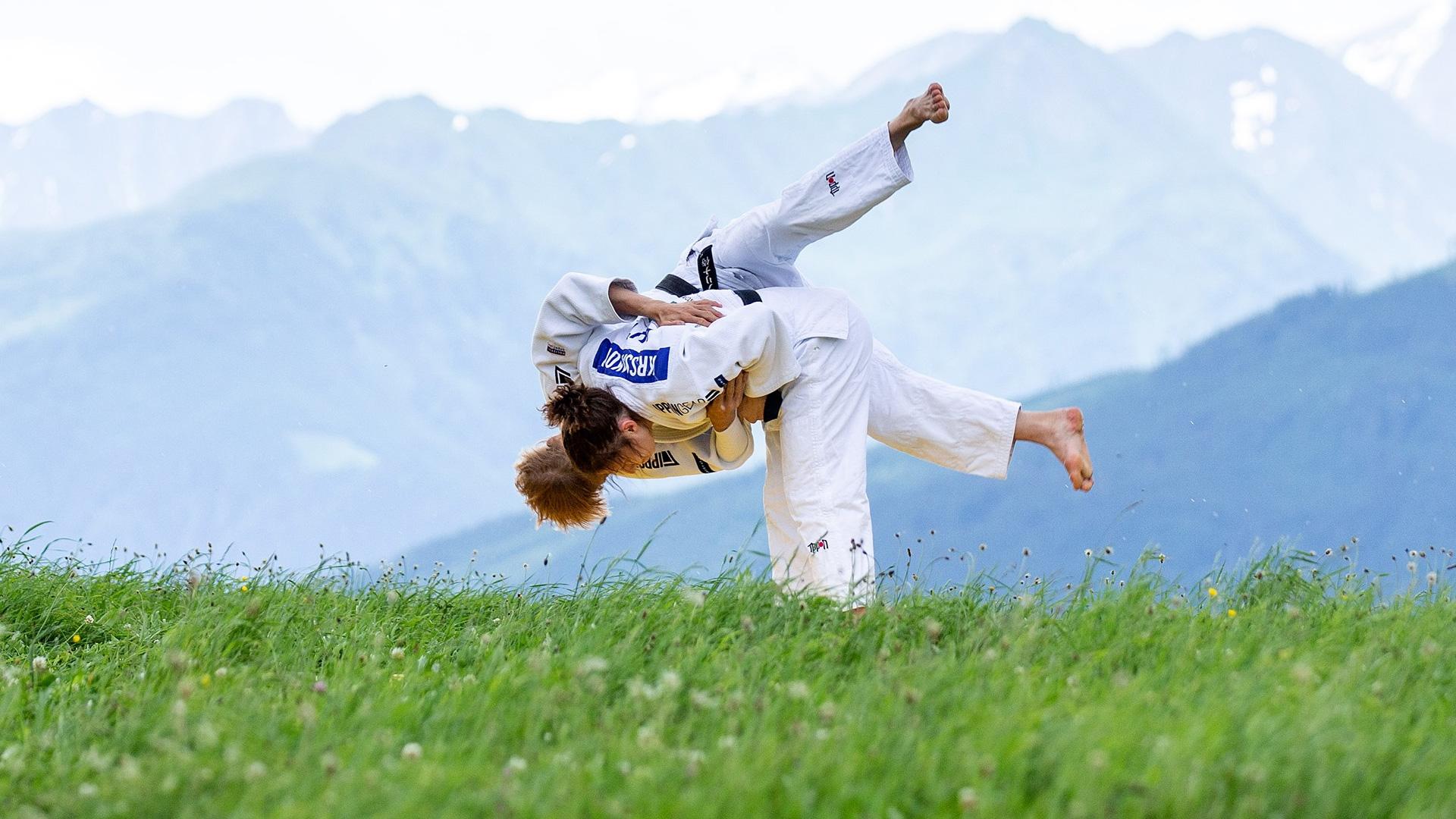 Österreichischer Judoverband Outdoor Training in den Alpen