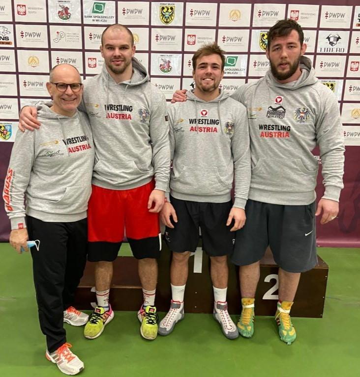 Das Freistil Team in Polen