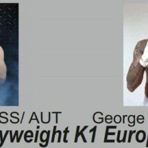 OGBEIWI vs. KROISS kämpfen um den K-1 EM Titel