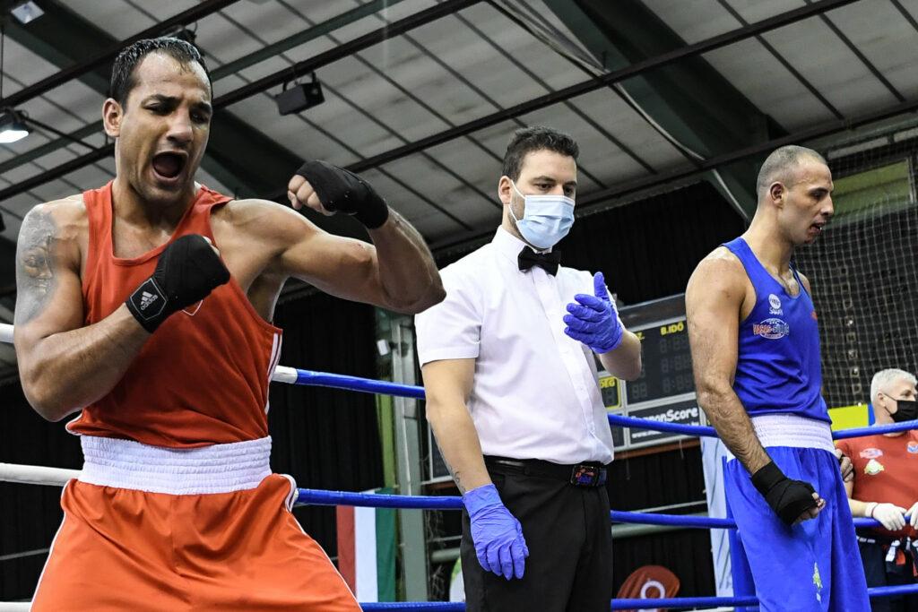Mobin Kharazeh (-81 kg) trainiert seit 2019 im Boxclub Bounce unter den Fittichen von Daniel Nader.