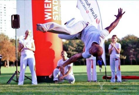 Capoeira, der brasilianische Kampftanz