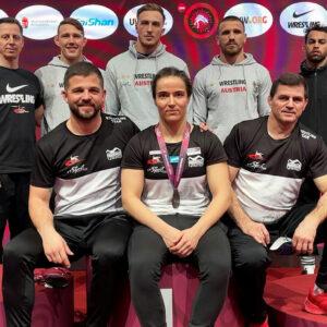 Bronze für Martina Kuenz!