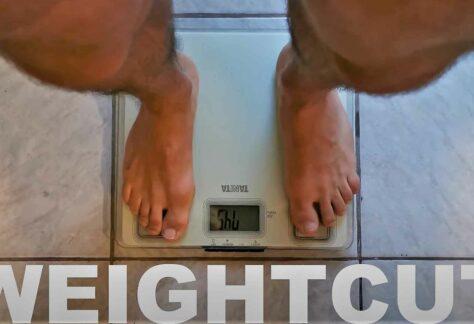 Weight Cut- ohne Disziplin und Durchhaltevermögen geht nichts