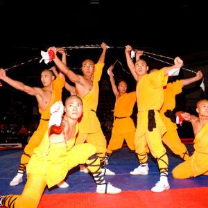 Kung Fu, die Kampfkunst der Mönche