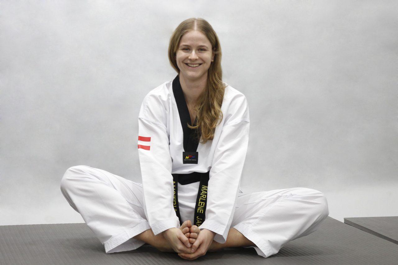 Europameisterin-Taekwondo