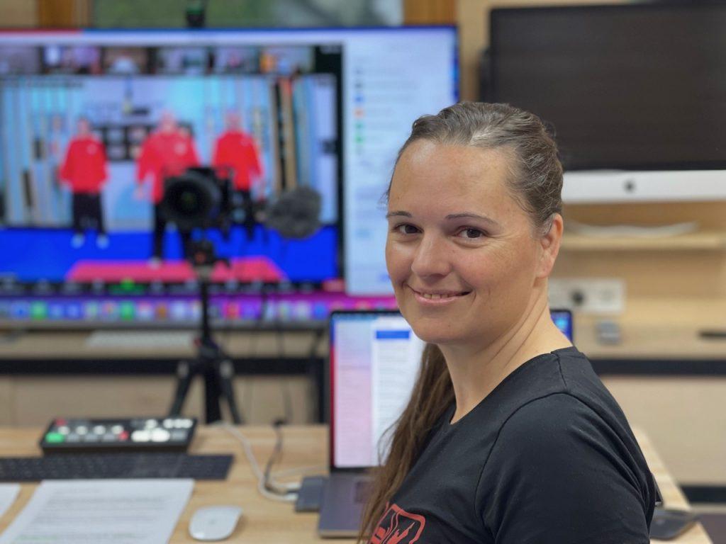 Eva Kathrein - Organisatorin des World Budo Day und Sportphysiotherapeutin