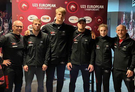 Freistil Ringer bei der U-23 Europameisterschaften ausgeschieden