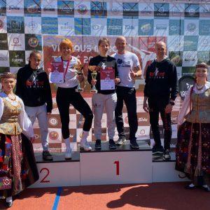 Erfolg beim internationalen Vilnius Major Cup 2021