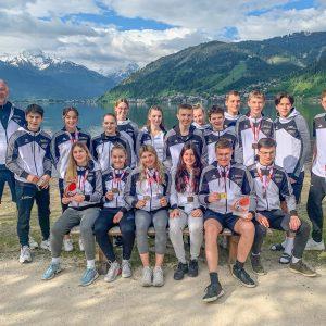 Medaillenregen beim Euro Cup für Vorarlberger Karatekas