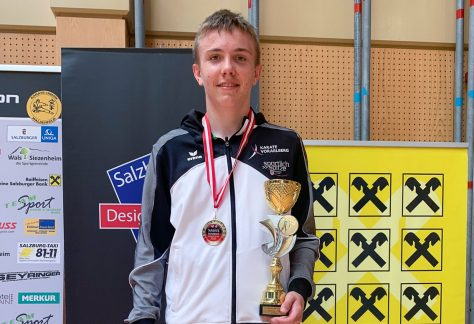 Martin Märker gewinnt Gold bei den Austrian Junioren Open