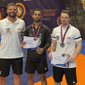 Zwei Silbermedaillen beim Weltcup in Sassari