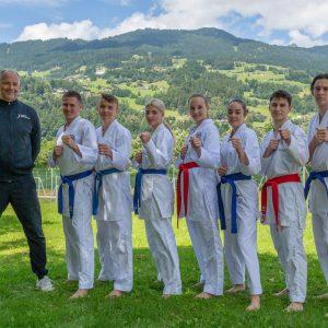 Sieben Teilnehmer bei der CJU21 EM
