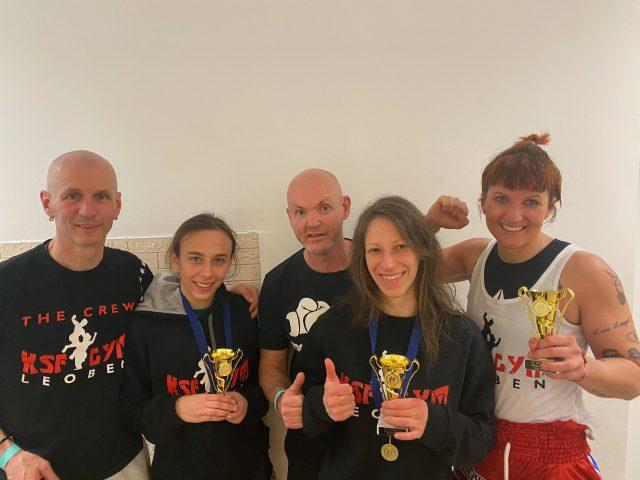 von links nach rechts: Günter Plank, Kincsö Olah, Helmut Fischer, Rebecca Hödl, Nina Scheucher