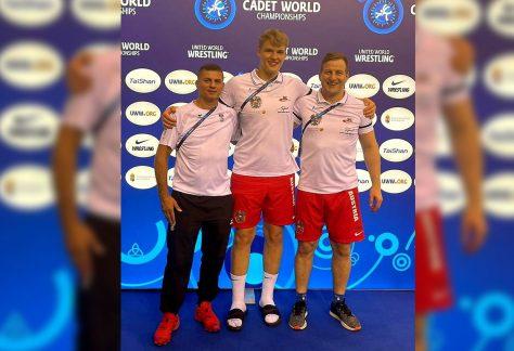 Leonhard Junger belegt 14. Platz bei der Kadetten WM