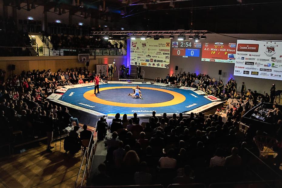 Finalkampf 2019 in der Walserfeldhalle