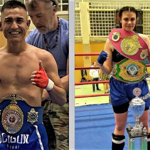 Sahil und Petre – zwei neue Europameister im K1